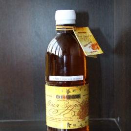 Масло зародышей пшеницы холодного отжима 1000мл (пластик)