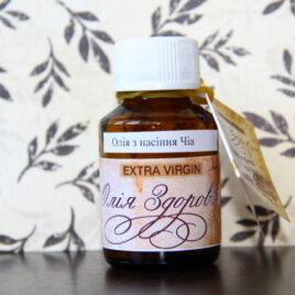 Масло семян Чиа холодного отжима 60мл (стекло)